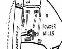 Gunpowder mill line drawing
