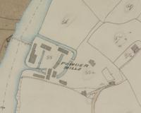 Gunpowder mill map 1755