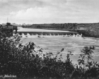 Woolston Weir Postcard