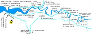 Mersey and Irwell Navigation 1950