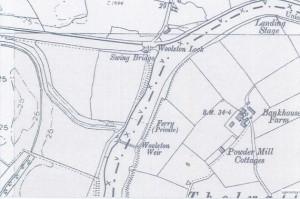 1900 Woolston Lock, Weir, Landing Stage, Swing Bridge (3508 x 2480) 50 (600 x 424)