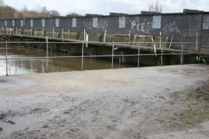 45 guard weir flood after