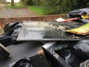 New Cut Canal litter pick 16.04.16 18 skip a