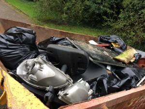 New Cut Canal litter pick 16.04.16 19 skip (2)